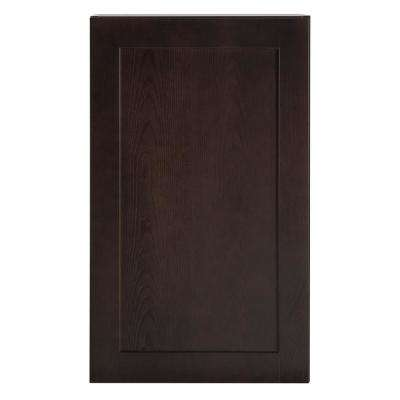Cambridge Assembled 18x30x12.5 in. Wall Cabinet in Dusk