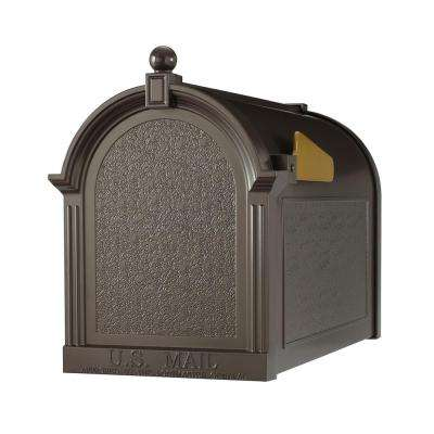 Streetside Mailbox in French Bronze