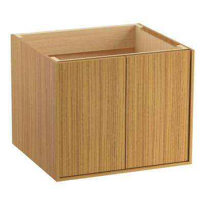 Jute 24 in. Bath Vanity Cabinet Only in Corduroy Oak