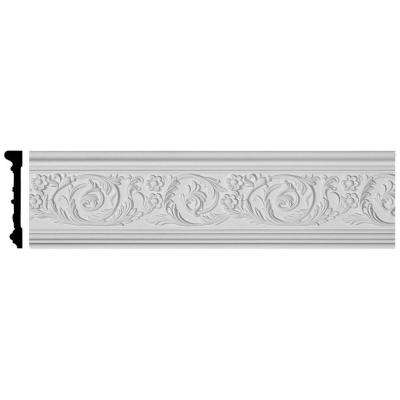 1-1/8 in. x 6 in. x 94-1/2 in. Polyurethane Kinsley Panel Moulding