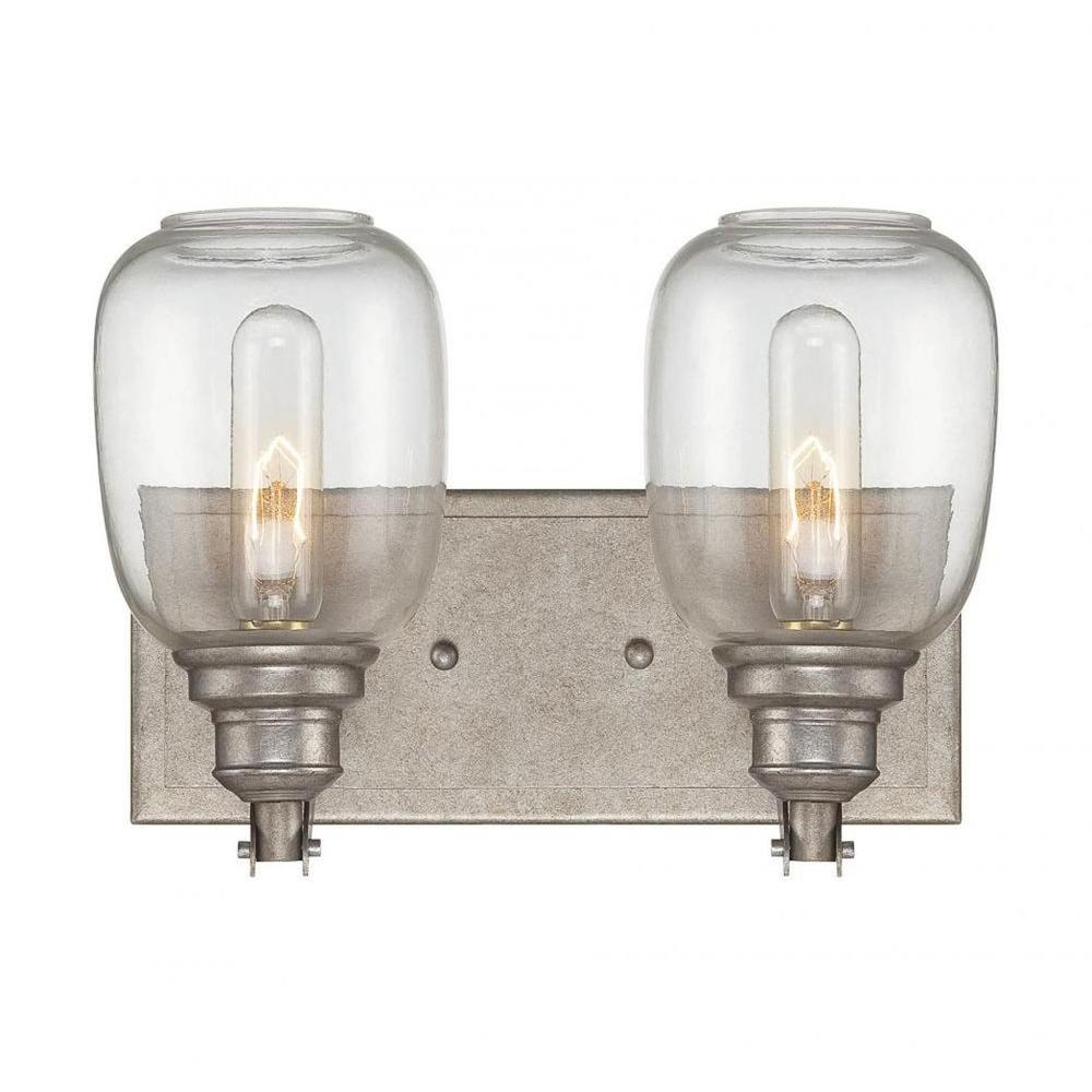 Filament Design Euboea 2 Light Industrial Steel Bath Vanity Light Cli Sh0242847 The Home Depot