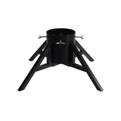 Metal Urban Geometric Christmas Tree Stand for Real Trees Up to 10 ft. Tall