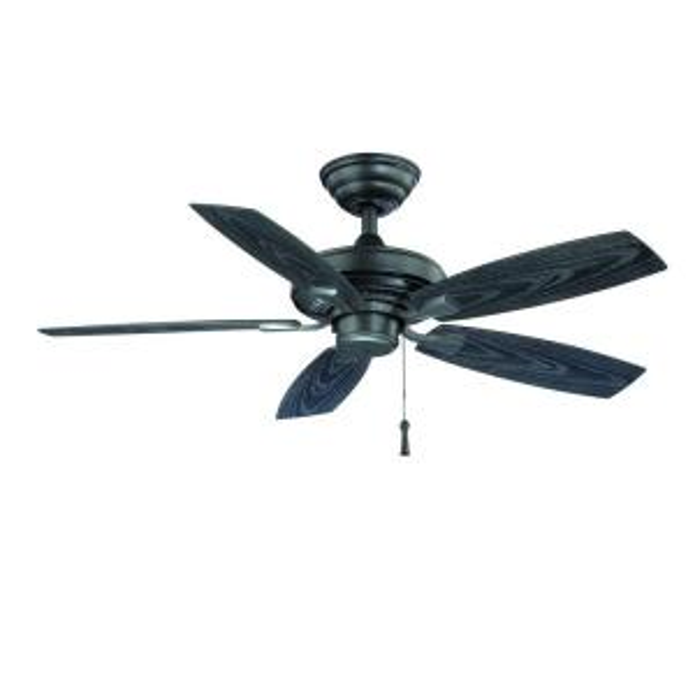 Hampton Bay Gazebo II 42 inch Indoor/Outdoor Natural Iron Ceiling Fan by Hampton Bay