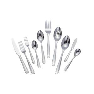 Home Decorators Collection Lora 45-Piece Stainless Steel Flatware Set