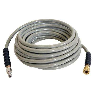 100 ft. Wrapped Hose with Quick-Connect Couplers