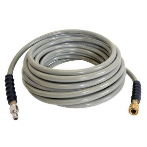 Simpson 100 ft. Wrapped Hose with Quick-Connect Couplers by Simpson