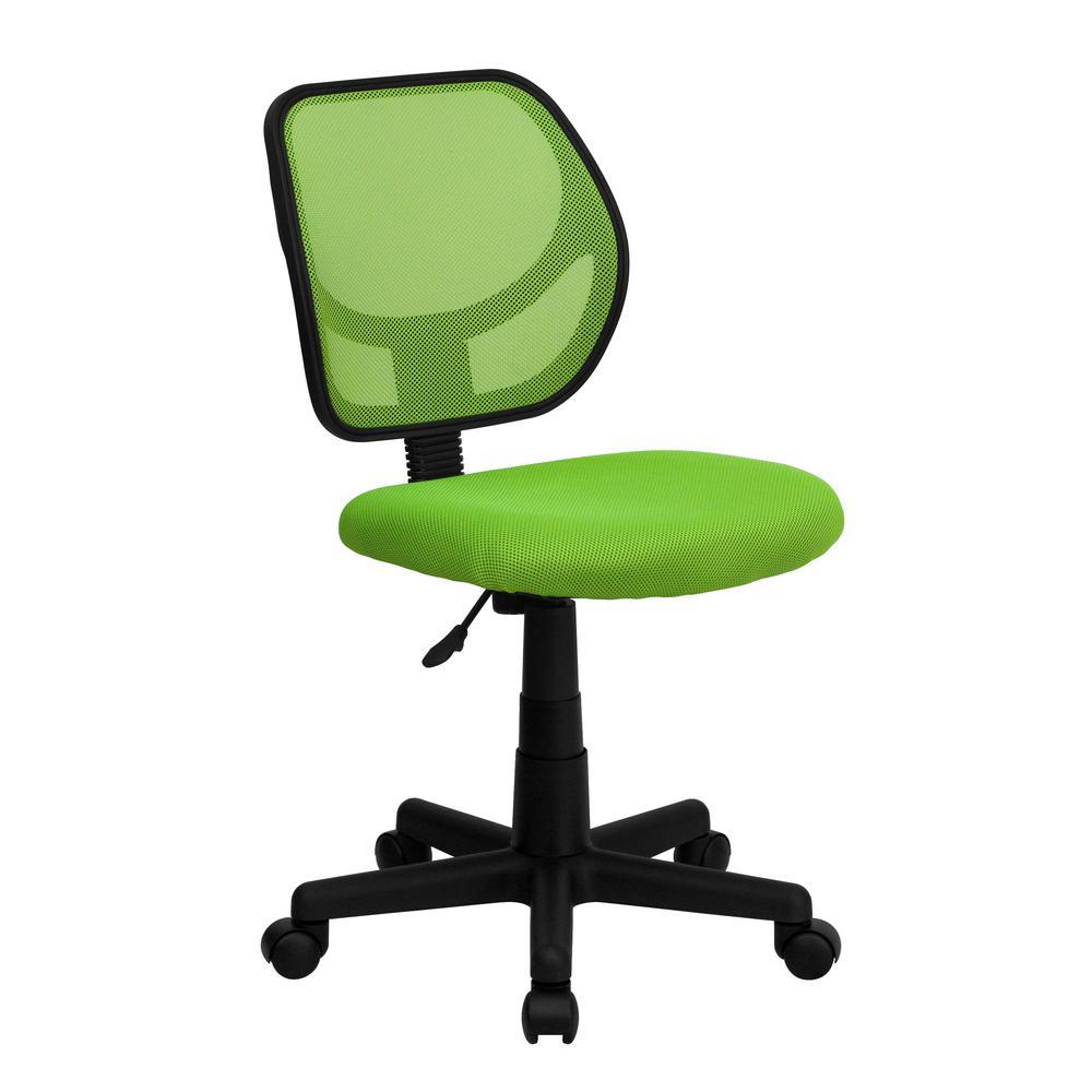 Green Mesh Swivel Task Chair