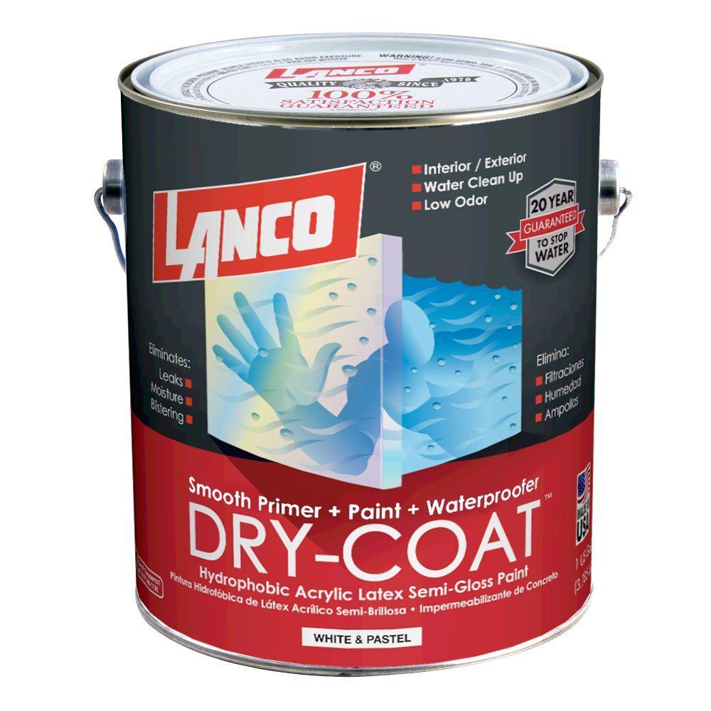 Basement Moisture Barrier Paint: DRYLOK 5 Gal. White Masonry Waterproofer-27515