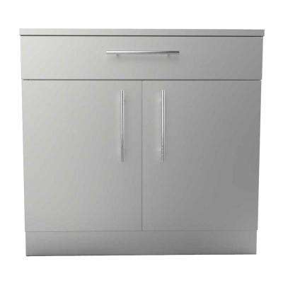 Genial Designer Series 304 Stainless Steel 36 In. X 34.5 In. X 28.25 In.