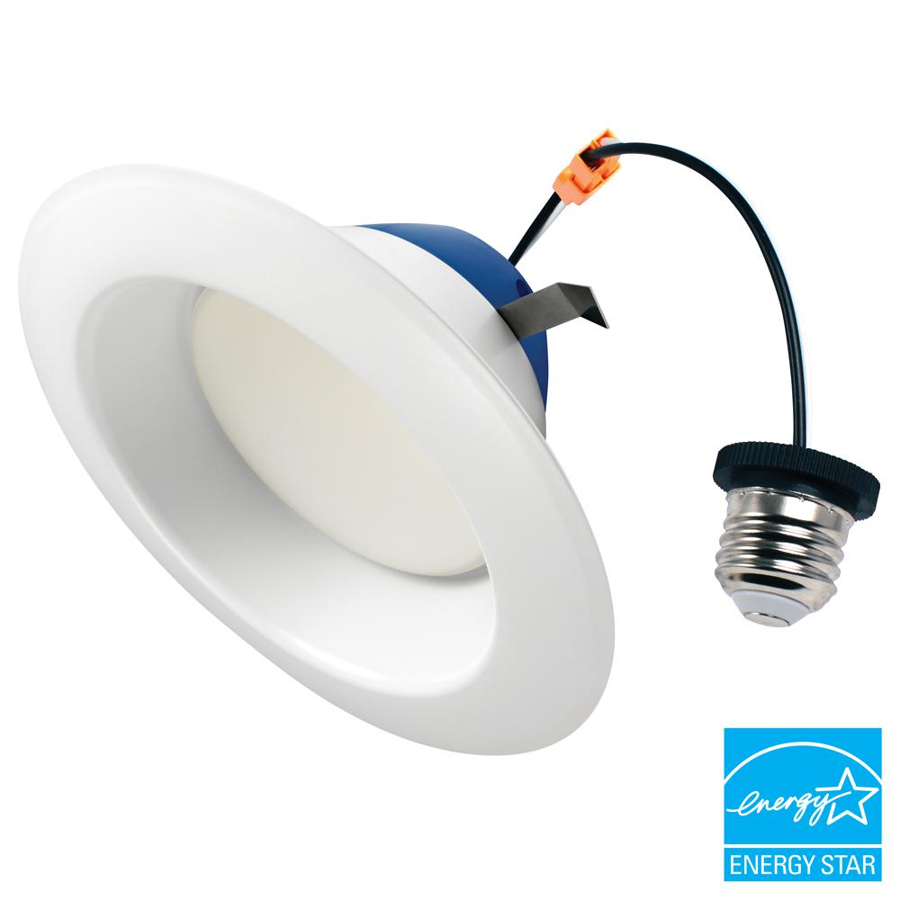 Cree 6 In 100 Watt Equivalent 2700k Soft White Integrated Led Recessed Downlight Retrofit