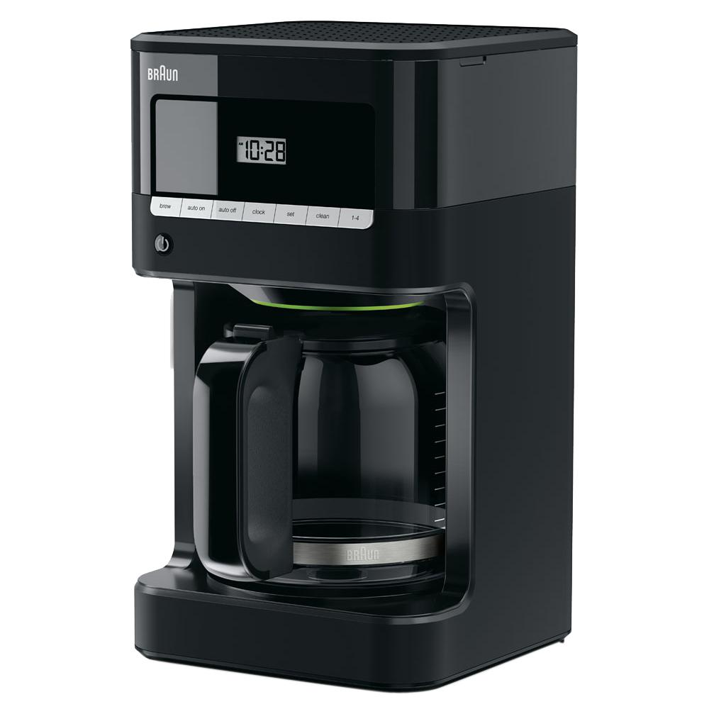 BrewSense 12-Cup Drip Coffee Maker in Black