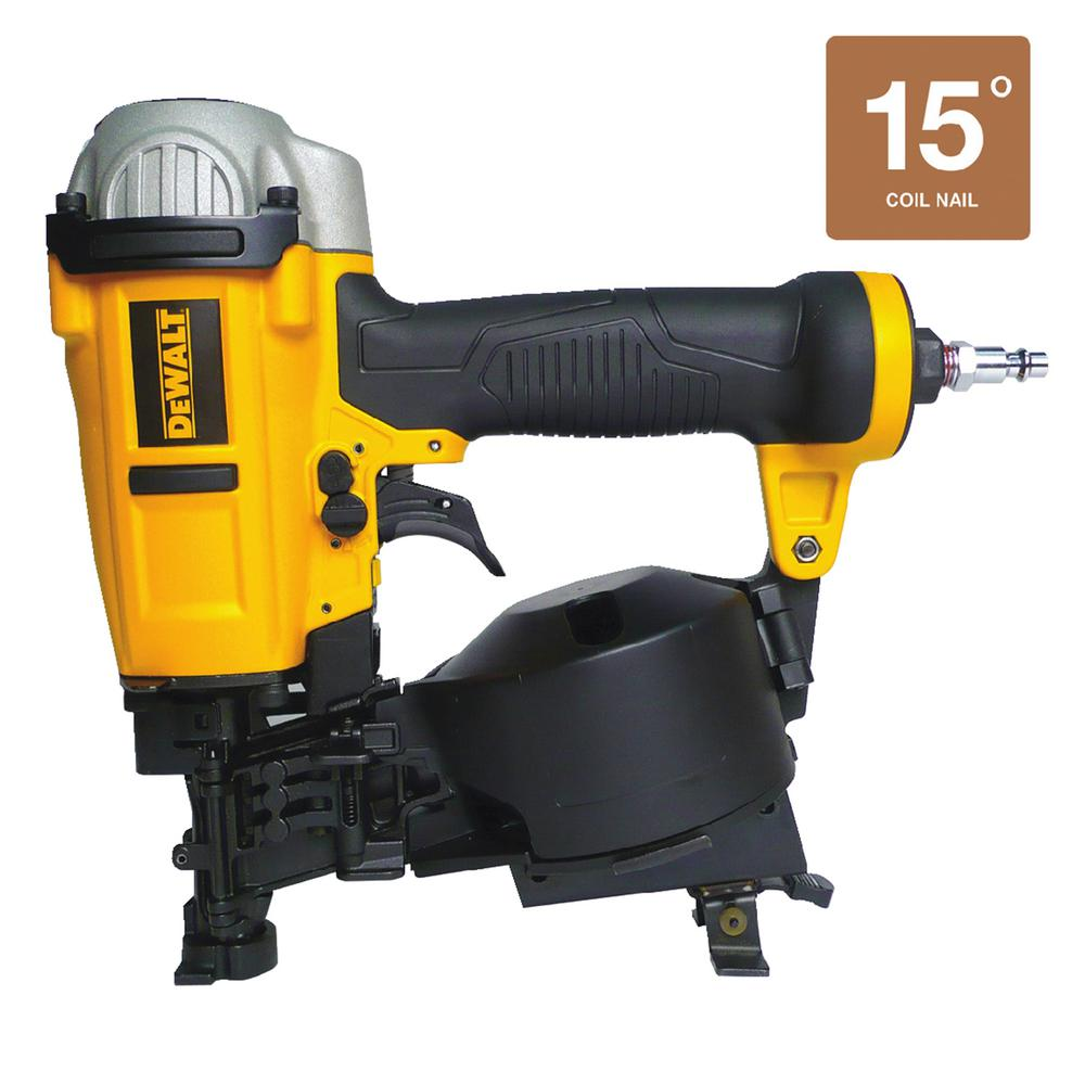 Dewalt 15 Degree Coil Roofing Nailer Dwfp12658 The Home