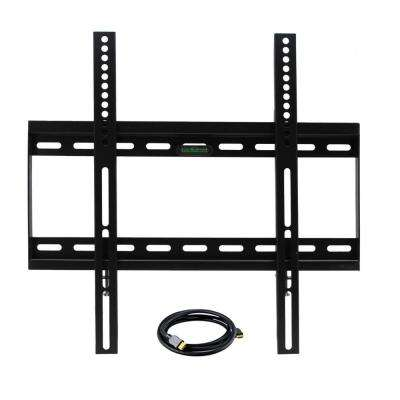 32 in. x 50 in. Television Wall Mount with HDMI Cable in Black