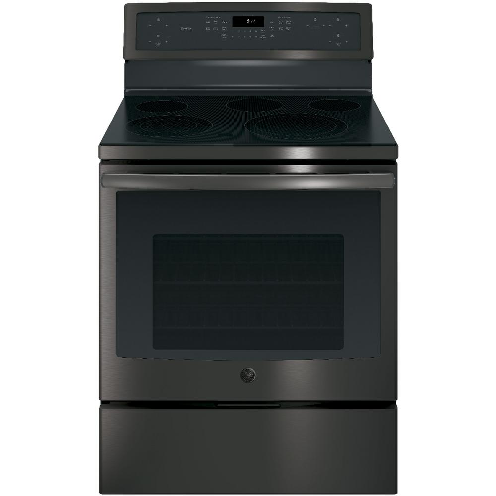 Electric Range With Self Cleaning