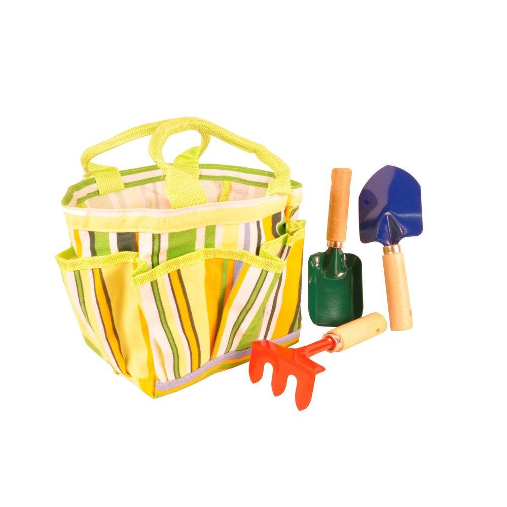 G & F Products Kids Garden Tool Set with Tote