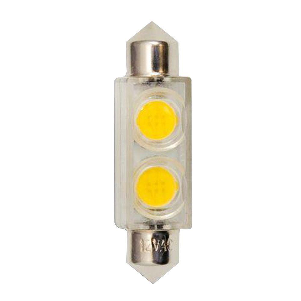 Bulbrite 0.8W Equivalent Soft White (3000K) T3 LED Light Bulb (5-Pack)