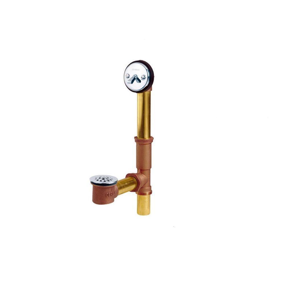 41-812 Brass Trip-Lever Bath Drain