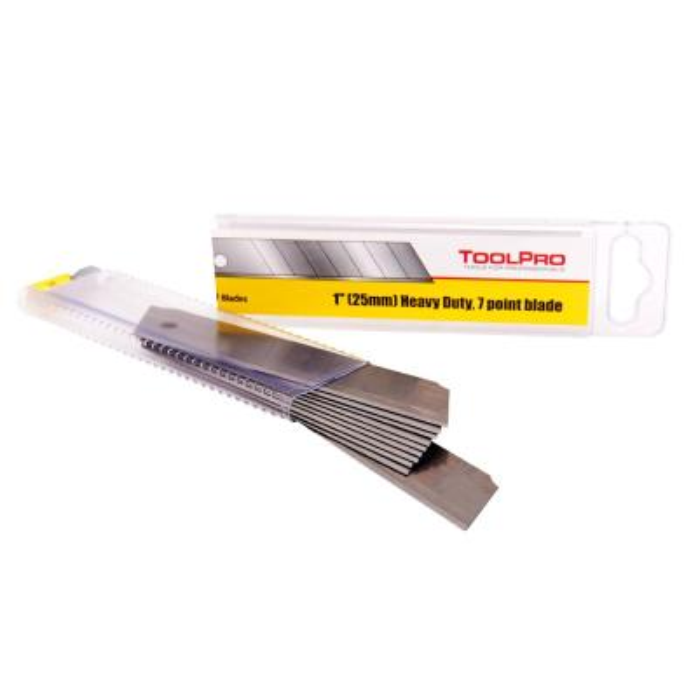 25 mm Snap Knife Blades (10-Pack)