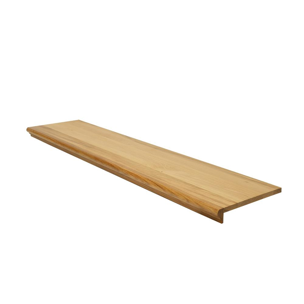 0.625 in. x 11.5 in. x 42 in. Prefinished Natural Hickory