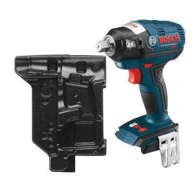 18 Volt Lithium-Ion Cordless Electric 1/2 in. Brushless Square Drive Impact Wrench Kit with Detent Pin (Tool-Only)