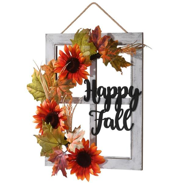 16 in. Happy Fall Wall Sign