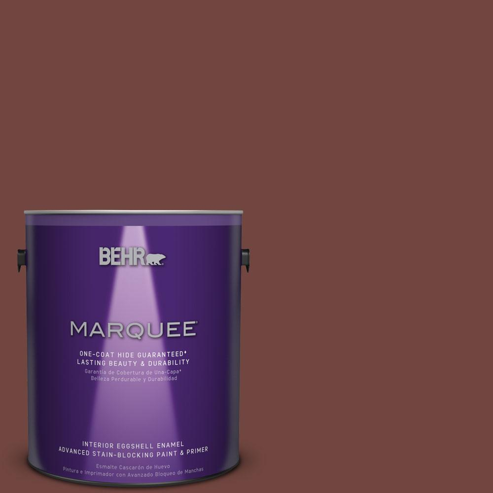 BEHR MARQUEE 1 gal. #MQ1-19 Dressed to Impress One-Coat Hide Eggshell Enamel Interior Paint