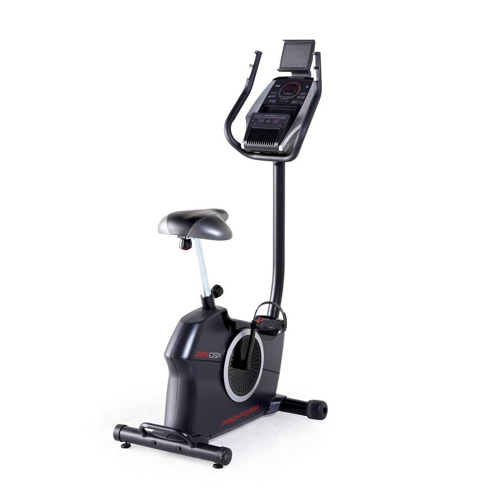 Proform 225 CSX vertical bicicleta de ejercicio con ... on