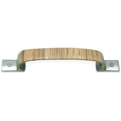 Hamptons Brushed Nickel 10 In Wrapped Mega Pull