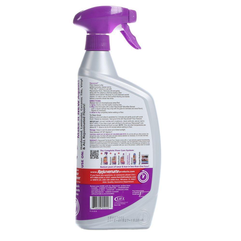 Rejuvenate Floor Cleaner 32 Oz Tile Stain Remover