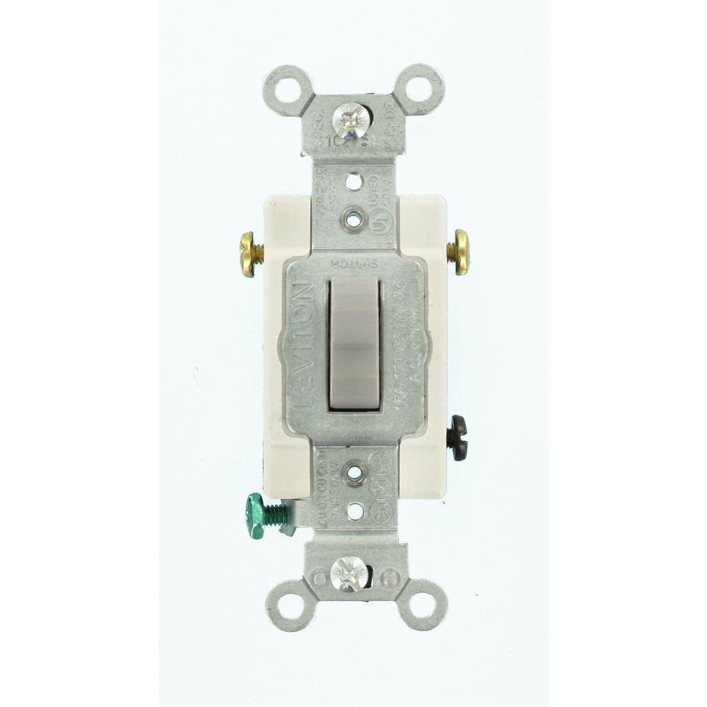 gray leviton switches cs315 2gy 64_1000 leviton 15 amp 3 way double toggle switch, white r62 05241 0ws  at n-0.co