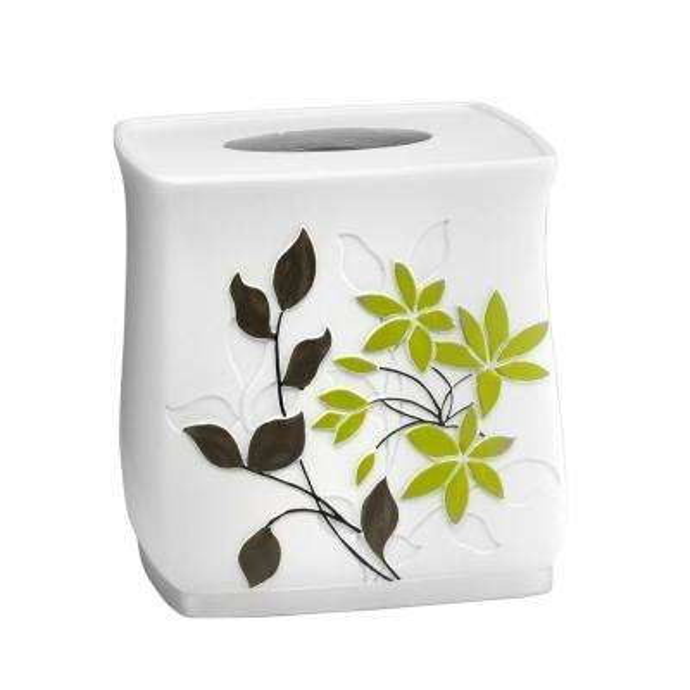 Mayan Leaf Tissue Box