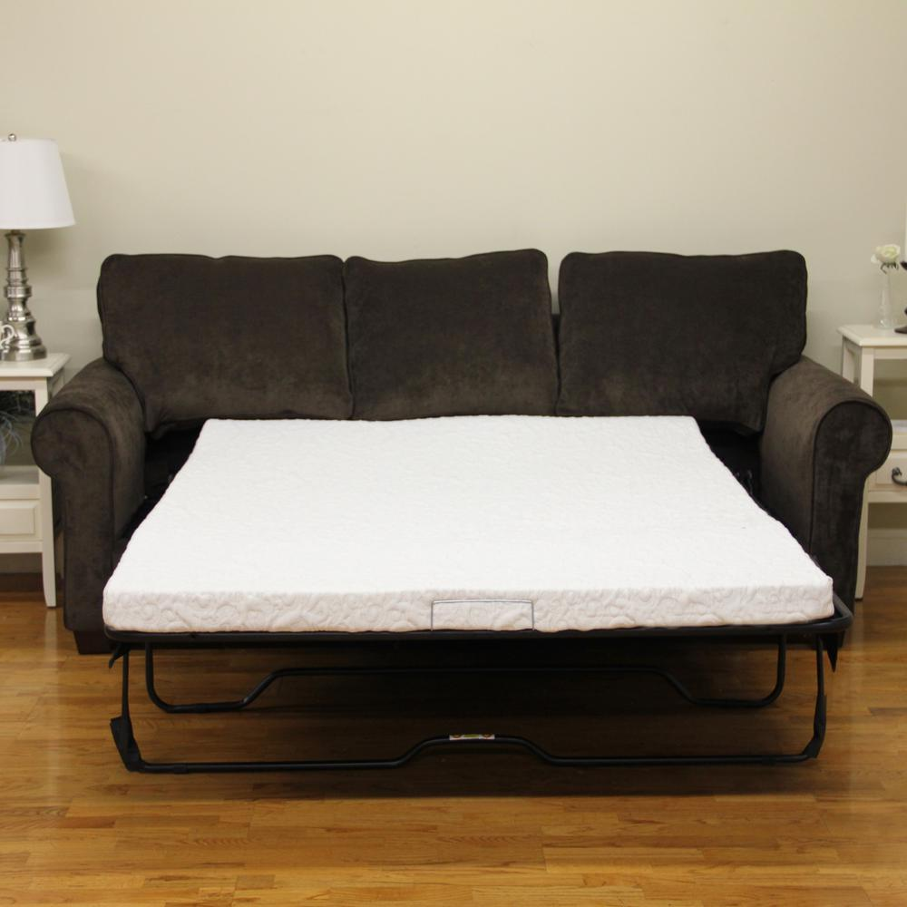 Cool Gel Queen-Size 4.5 in. Gel Foam Sofa Bed Mattress