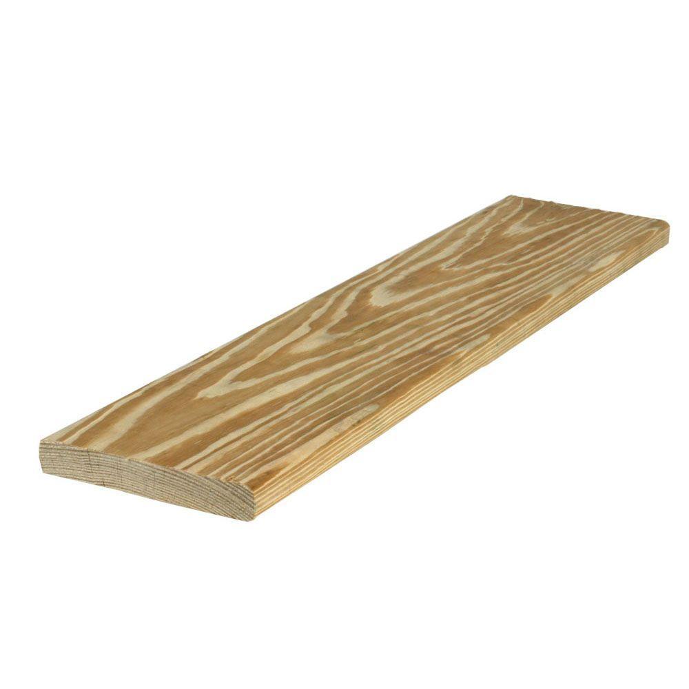 5/4 in. x 6 in. x 8 ft. Premium Pressure-Treated Lumber