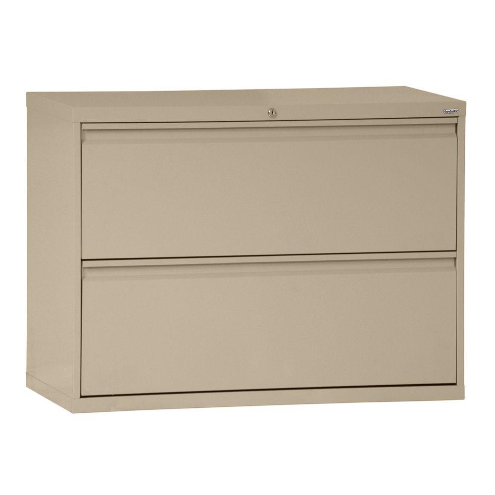 Sandusky Lee 800 Series 30 in. W 2-Drawer Full Pull Later...