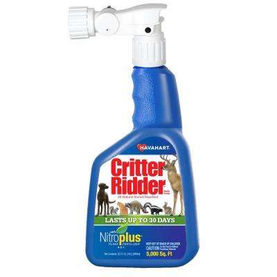 Critter Ridder 32 oz. Animal Repellent with NitroPlus