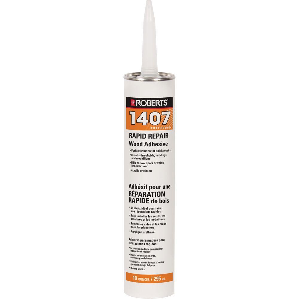 10 oz. Cartridge Tube of Rapid Repair Wood Flooring Adhesive