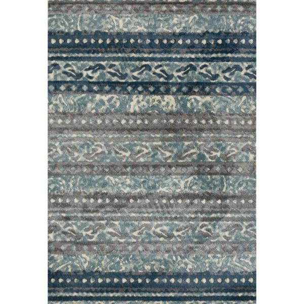 Art Carpet Novi Flowing Blue 8 Ft X 10 Ft Area Rug 21834 The Home Depot