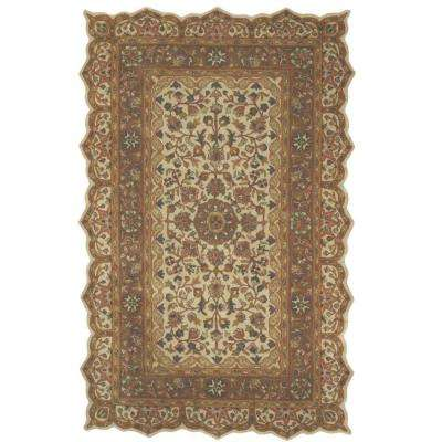 Masterpiece Taupe 10 ft. x 14 ft. Area Rug
