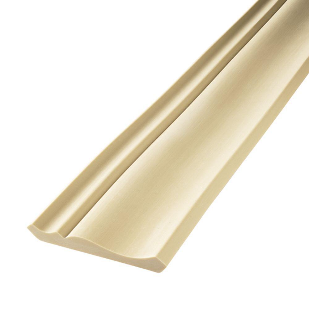 HD 052 9/16 in. x 2-3/4 in. x 144 in. Polyurethane Flexible Crown Moulding