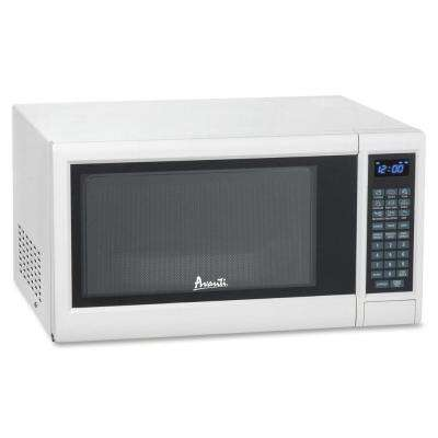 1.2 cu. ft. Countertop Microwave White, with Sensor Cooking