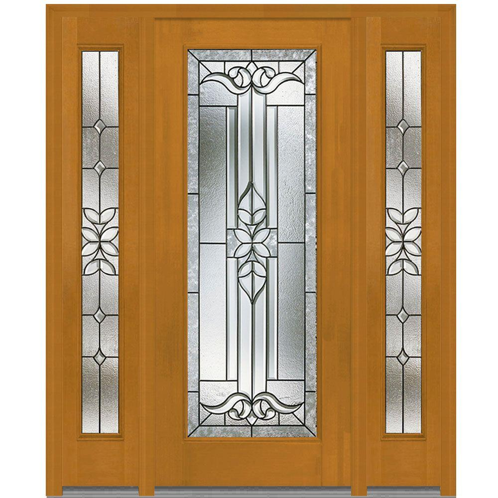 MMI Door 60 In. X 80 In. Cadence Right Hand Full Lite Decorative