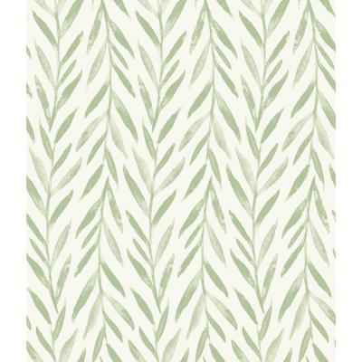 Willow Green Paper Peelable Roll (Covers 34 sq. ft.)