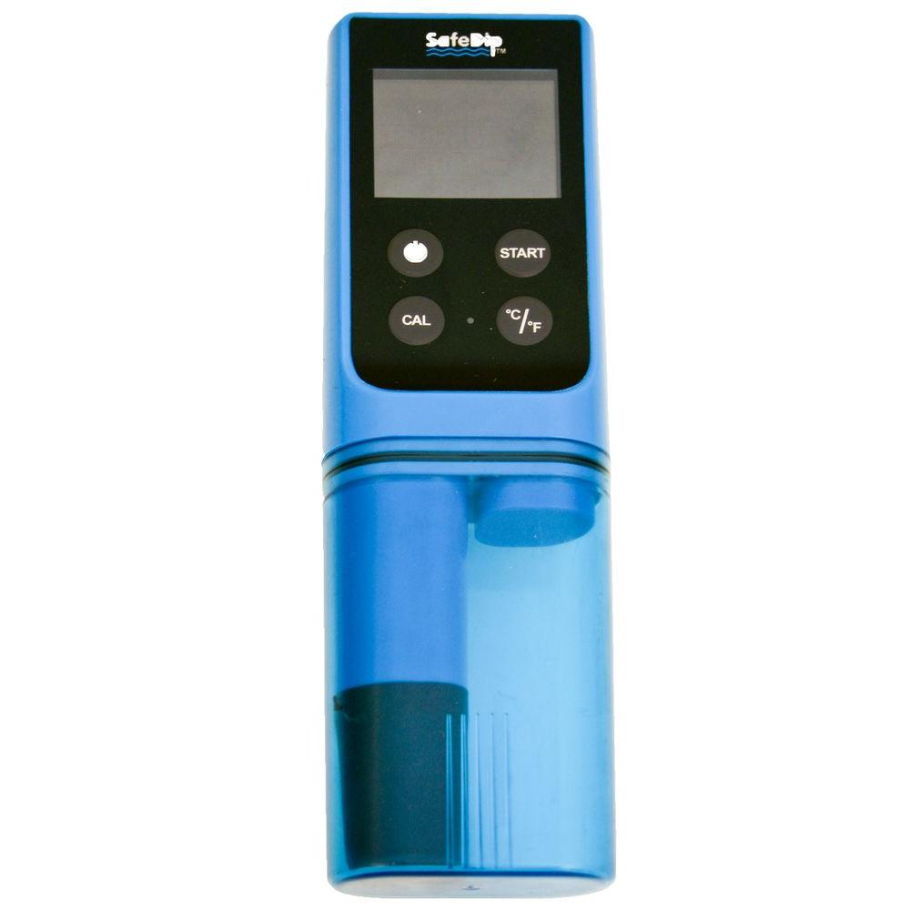 Solaxx Safe Dip 6 In 1 Electronic Pool And Spa Water Tester Np2060 The Home Depot