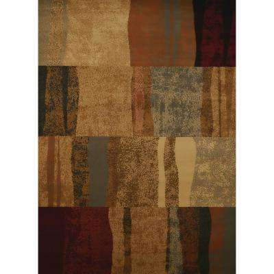 United Weavers Affinity Shadows Brown 7 ft. 10 in. x 10 ft. 6 in. Area Rug