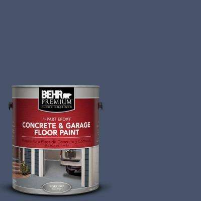 1 gal. #PFC-60 Deep Galaxy 1-Part Epoxy Concrete and Garage Floor Paint