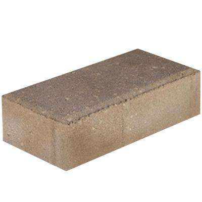 Holland 7.87 in. L x 3.94 in. W x 36 in. H 60 mm Tan/Brown Concrete Paver (480-Pieces/103 sq. ft./Pallet)