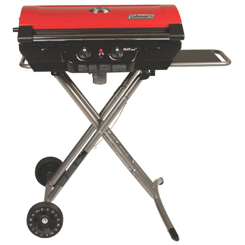 Tiny Simple House Is Off The Back Burner: Coleman NXT 200 2-Burner Metal Portable Propane Grill