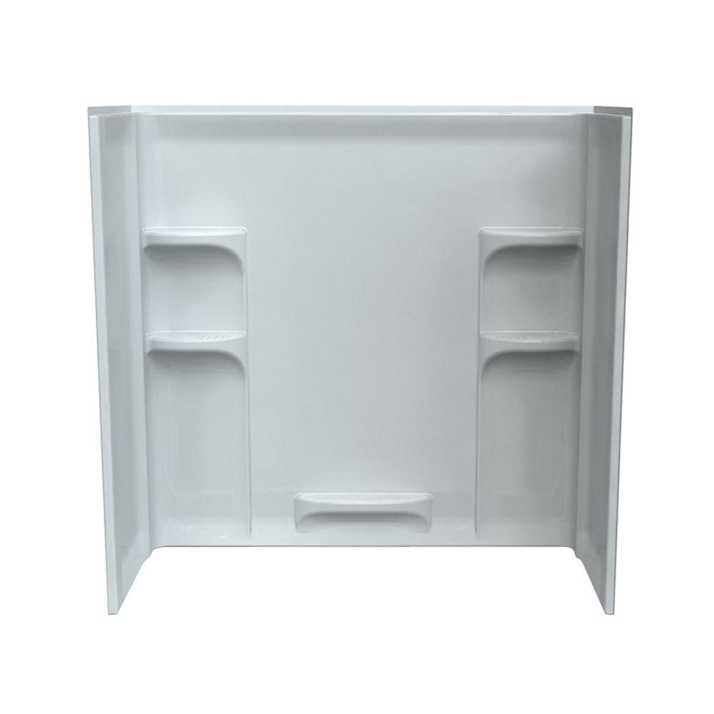 American standard ovation 30 in x 60 in x 58 in 3 piece for Three piece bathroom