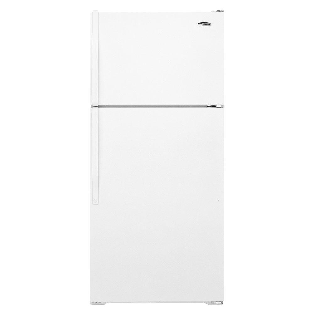 Amana 15.9 cu. ft. Top Freezer Refrigerator in White