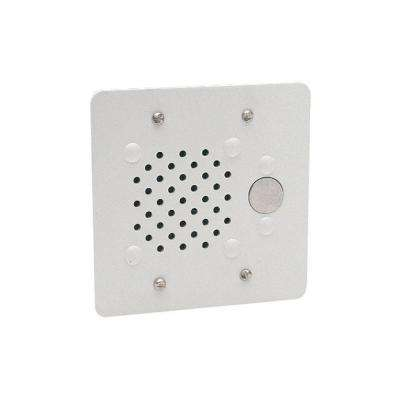 Vandal-Resistant Doorplate Speaker
